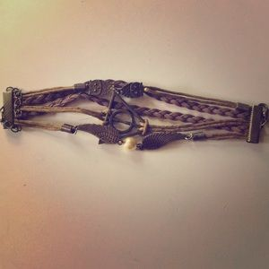 Harry Potter Bracelet New. Deathly hallows.